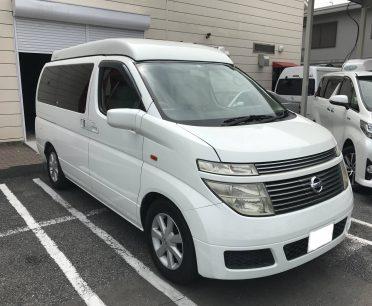 日本一周のためのキャンピングカー。納車!