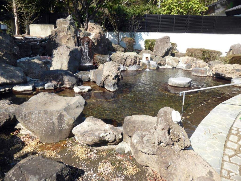 城の湯RVパーク 温泉