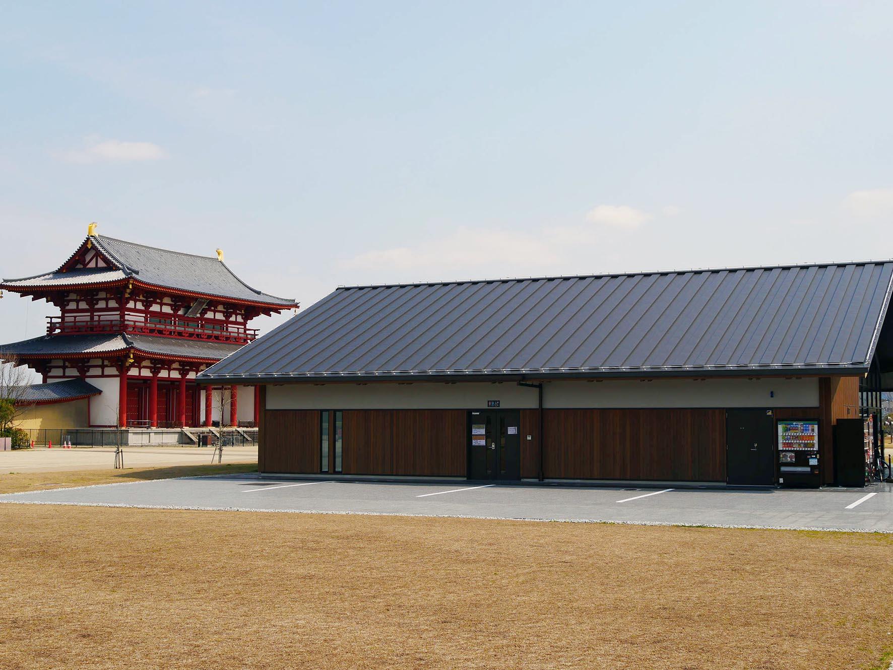 平城宮跡歴史公園のRVパーク。